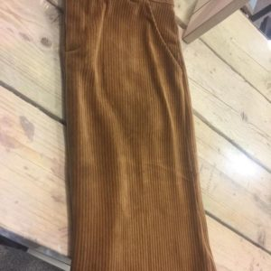 Velours rok brown