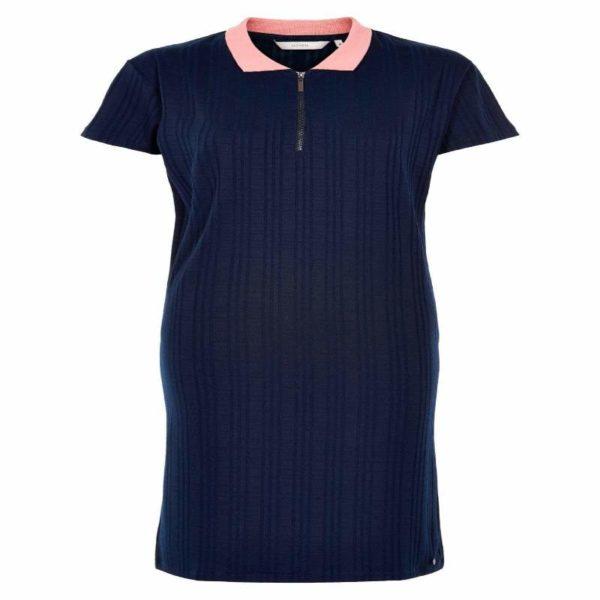 Donker blauw kleedje