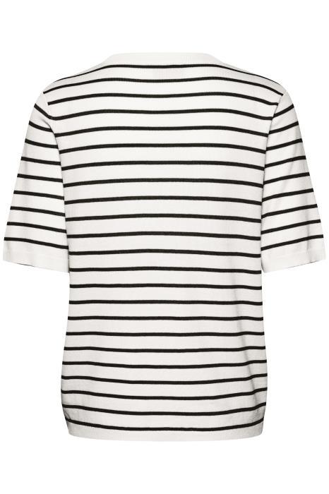 t-shirt zwarte streep