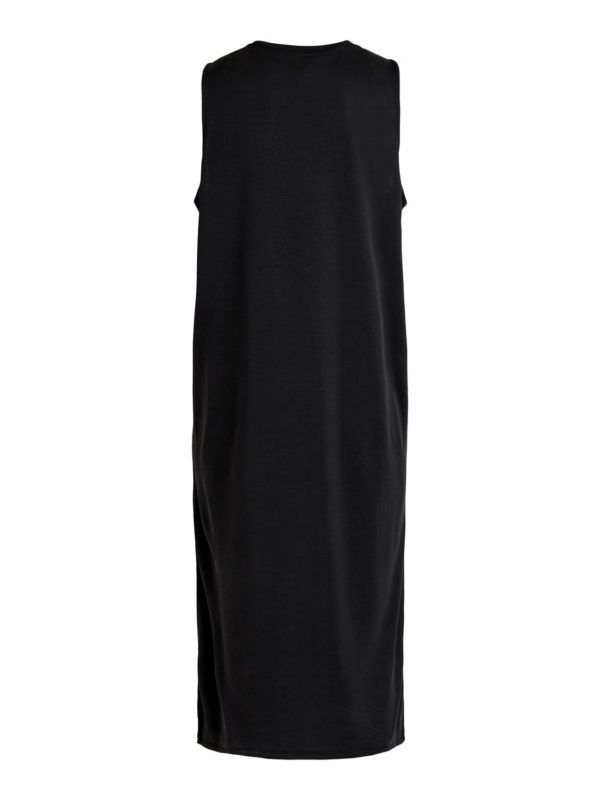 loose fit jurk zwart