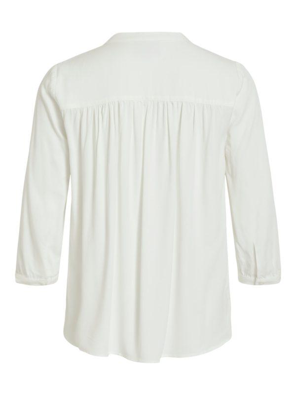 Witte blouse met v-neck