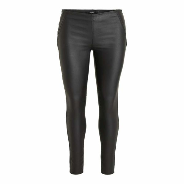 Zwarte coated legging