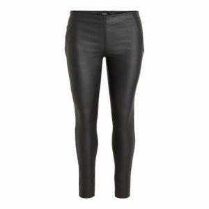 Zwarte coated legging