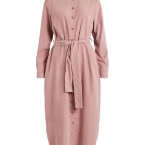 roze shirt dress