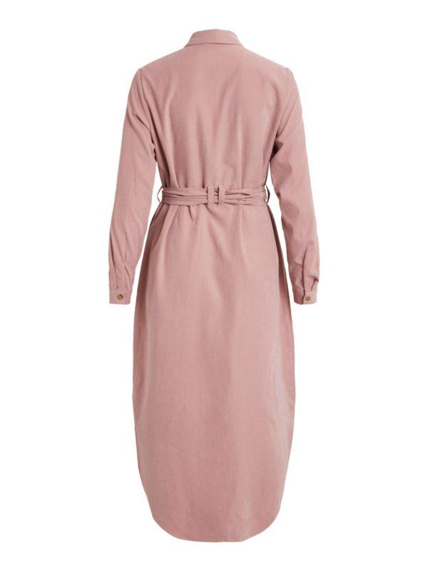 roze shirt dress