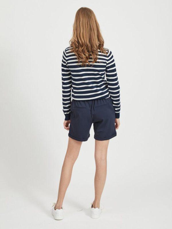 donker blauwe short