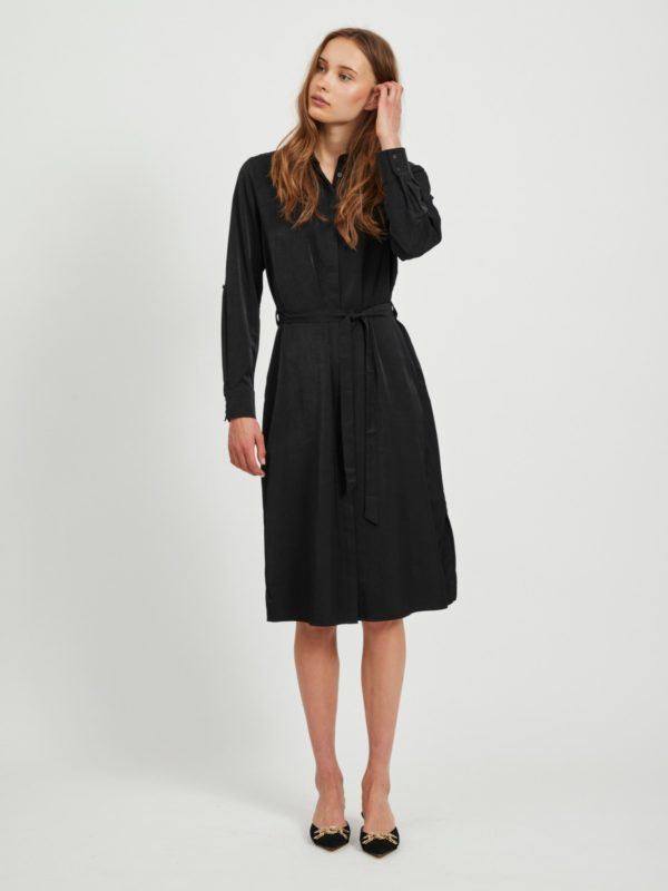 Zwart kleed