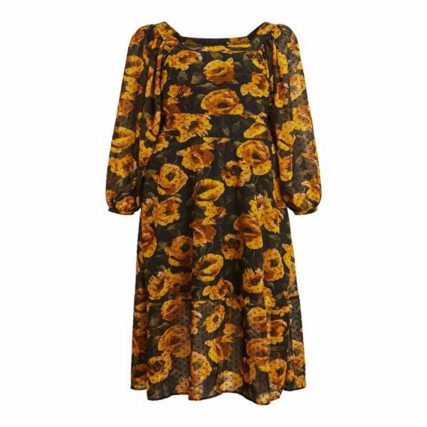 bloemen jurk (maxi dress)