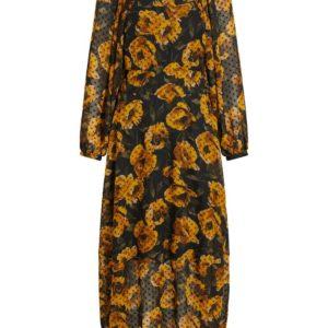 objelodia l/s maxi dress
