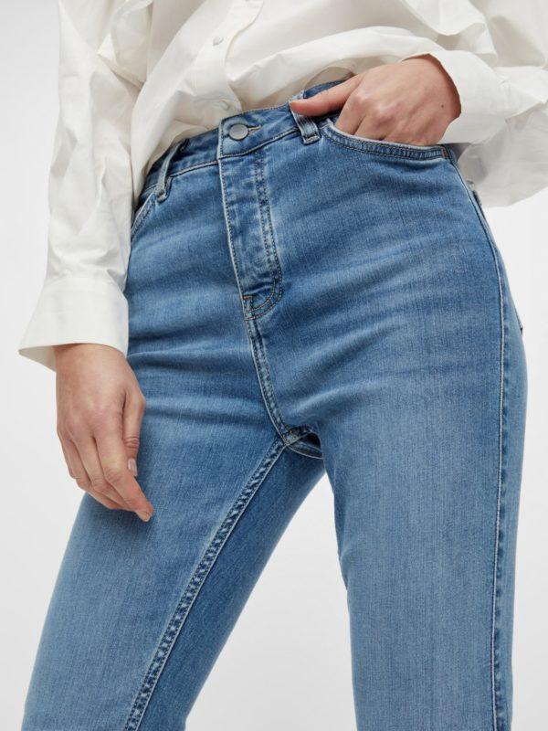 High waist slim fit