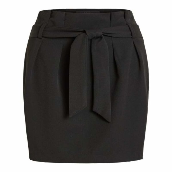 Zwarte koker rok