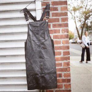 Salopette jurk (Echt Leder)