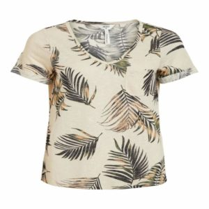 T-shirt met v-neck