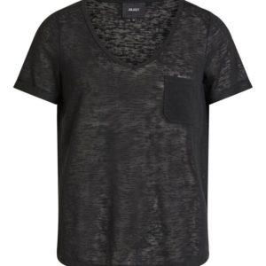Zwart shirt v-neck