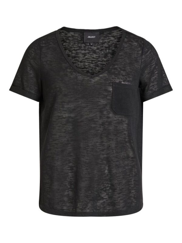Zwart shirt v-neck
