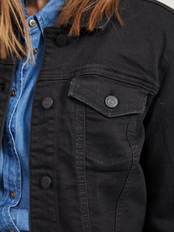 objwin denim jacket black