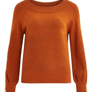 Roest kleurige pullover