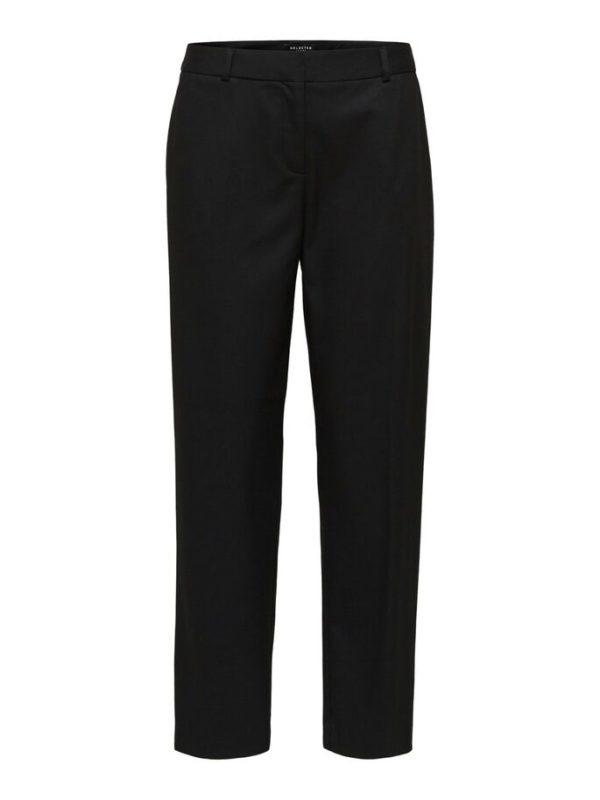 zwarte Cropped broek