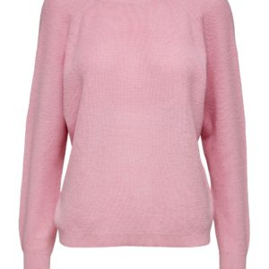 Roze pullover (v--neck aan de achterzijde)