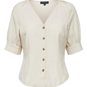 Blouse in Linnenmix