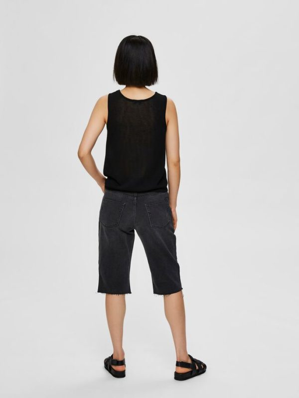 RELAXED FIT - GEBREIDE TOP