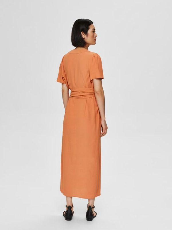 Split maxi jurk