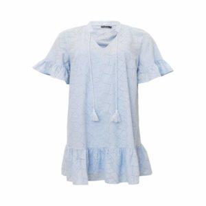 Licht blauw kleedje